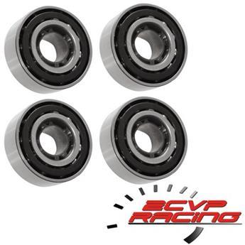 Lot de 4 roulements de roue Ø76 pour Méhari 4x4, Acadiane, AK, Ami QUALITE RACING