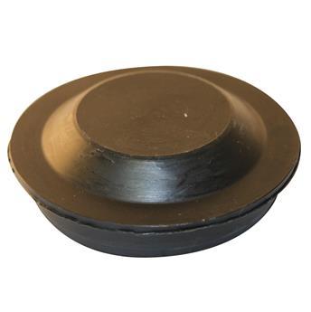 Cache écrou tambour en plastique