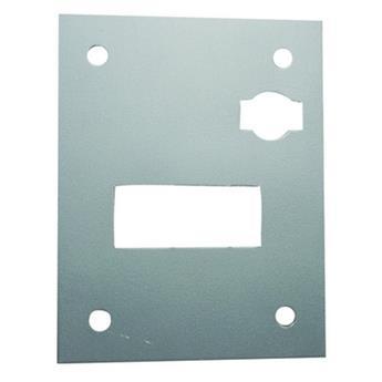 Plaque fixation de câble accélérateur sur tablier Méhari