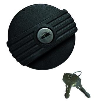 Bouchon à essence à clef Noir