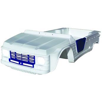Kit carrosserie MEHARI AZUR + Châssis tubulaires AVANT+ ARRIERE NOIRS