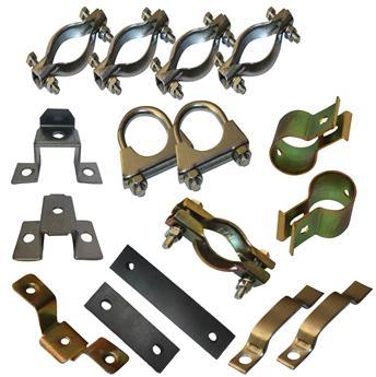 Kit colliers d'échappement partiel 1 pour 2CV