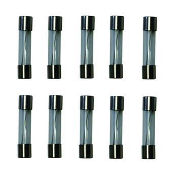 Lot de 10 Fusibles (5x10 Ampères, 5x15 Ampères)