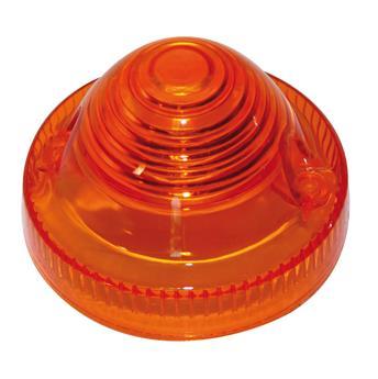 Cabochon de clignotant rond Orange