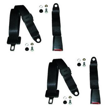 Paire de ceintures ventrales