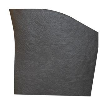 Garniture de tablette gauche Noire pour 2CV après 1970