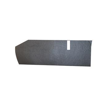Garniture de tablette droite Noire pour 2CV après 1970