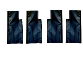 Ensemble 4 pièces fond de siège pour banquettes avants nouveau modèle (assise + dossier)