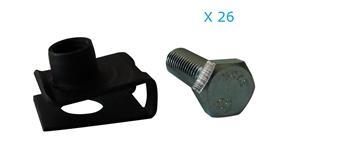 Kit visserie de fixation de caisse pour 2CV et Dyane
