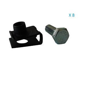 Kit visserie de fixation pour tôle de protection moteur ou réservoir