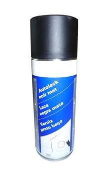 Bombe de peinture Noire mat  (RAL 9005) - 500 ml