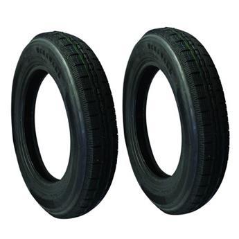 Lot de 2 pneus 125/15 _ Profil similaire MICHELIN X