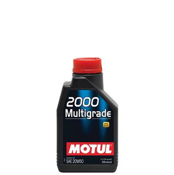 Bidon 1L d´huile moteur 2000  Multigrade 20W50