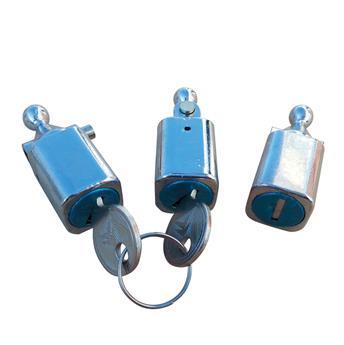 Lot de 3 Barillets + boutons de serrure pour Dyane et Acadiane