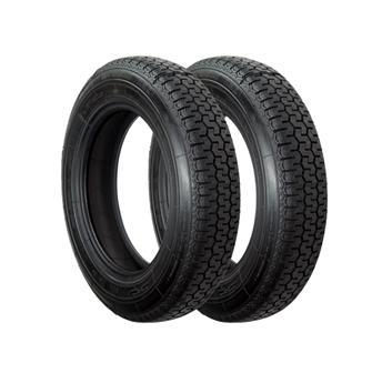 Lot 2 pneus 165/15