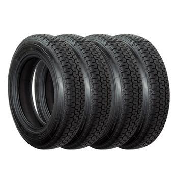Lot 4 pneus 165/15