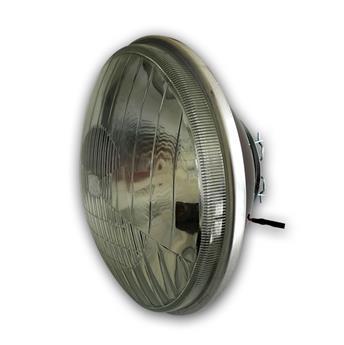Optique ADAPTABLE rond pour 2CV nouveau modèle avec veilleuse - Code européen