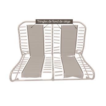Tringle 1m pour fond de siège