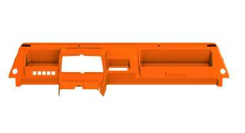 Tableau de bord Orange Kirchiz nouveau modèle pour Méhari