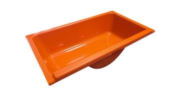 Boîte à gants Orange Kirchiz pour Méhari