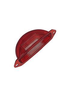 Cabochon demi lune Rouge éclairage plaque + Lanterne pour 2CV AZ avant 09/1957