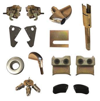 Pack serrures de portes Mehari Nouveau Modèle