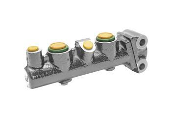 Maître-cylindre double circuit 2 sorties LHM Ø10 Méhari 07/1977 -> 07/1978
